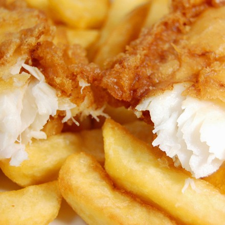 English Style Fish N' Chips